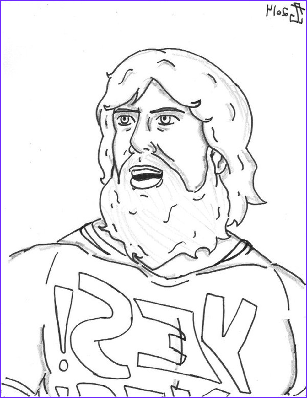 Wwe Coloring Pages New Stock Get This Printable Wwe Coloring Pages Daniel Bryan