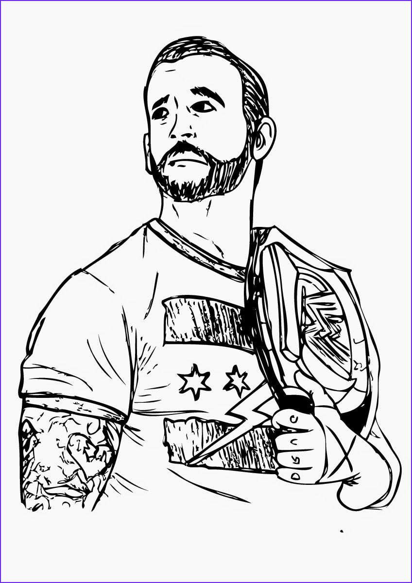 wwe coloring pages undertaker