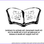 Yom Kippur Coloring Pages Awesome Collection High Holidays Yom Kippur Coloring Pages For Kids Family