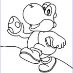 Yoshi Coloring Page Beautiful Images Cute Mario Coloring Pages