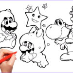 Yoshi Coloring Page Unique Photography Super Mario And Yoshi Coloring Pages For Kids