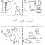 Zaccheaus Coloring Page Cool Photography Zacchaeus & Jesus Coloring Page Free Printable