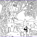 Zaccheaus Coloring Page New Collection Jesus And Zacchaeus Coloring Page Coloring Home