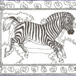 Zebra Coloring Pages Awesome Image Free Printable Zebra Coloring Pages For Kids