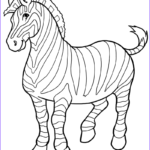 Zebra Coloring Pages Best Of Photos Free Printable Zebra Coloring Pages For Kids