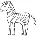 Zebra Coloring Pages Cool Gallery Free Printable Zebra Coloring Pages For Kids