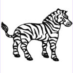 Zebra Coloring Pages Inspirational Collection Zebra Coloring Pages Free Printable Kids Coloring Pages