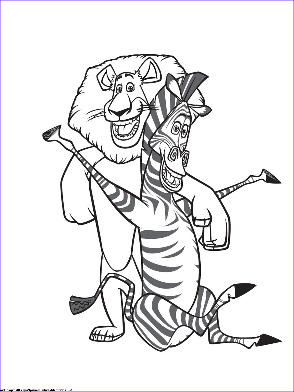 Zebra Coloring Pages Inspirational Photos Zebra Coloring Pages Free Printable Kids Coloring Pages