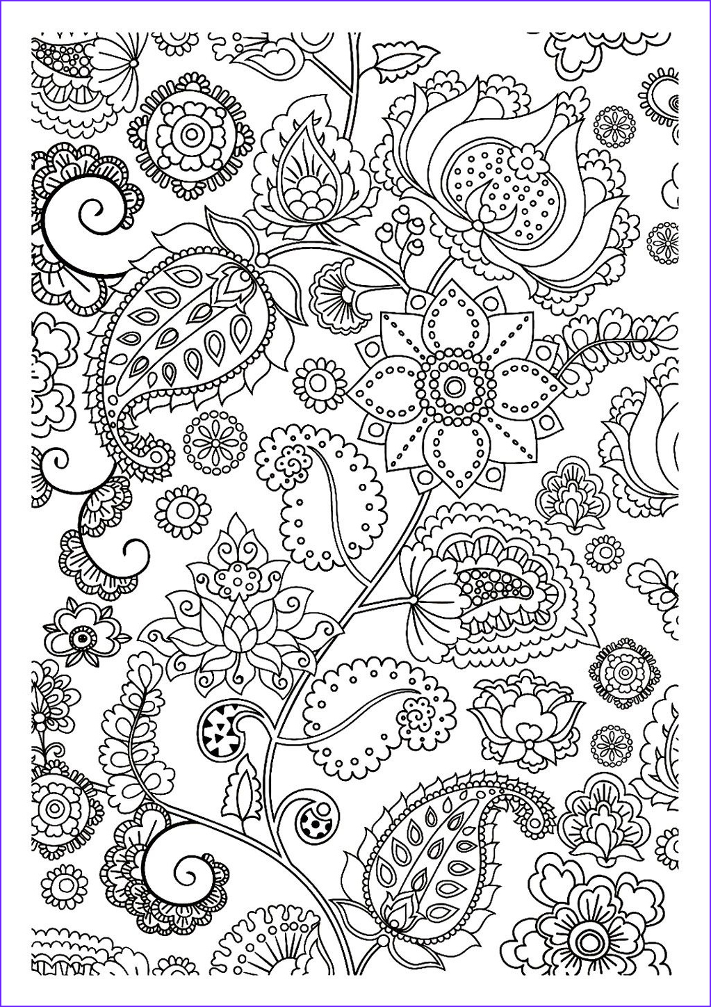 Zen Coloring Inspirational Gallery to Print This Free Coloring Page Coloring Adult Flowers