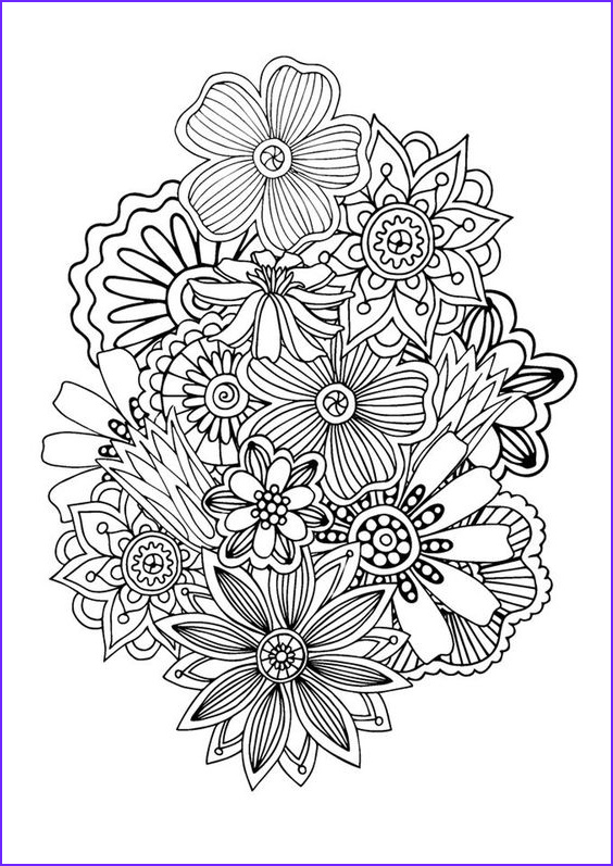 Zen Coloring New Photos Zen & Anti Stress Coloring Page Abstract Pattern