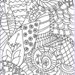 Zentangle Coloring Book Unique Images Zentangle Colouring Pages In The Playroom