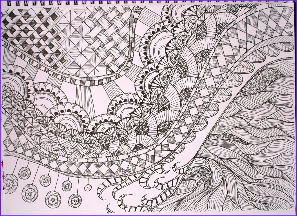 Zentangle Coloring Books Beautiful Photos Free Printable Zentangle Coloring Pages for Adults