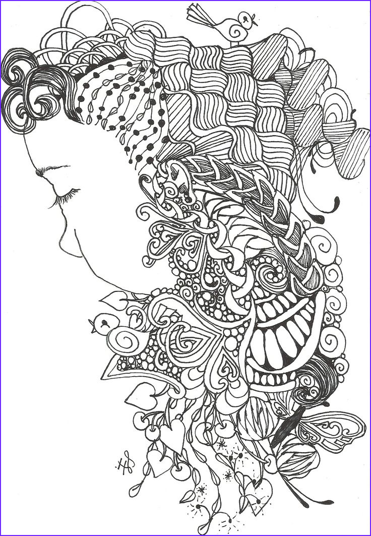Zentangle Coloring Books Elegant Image 353 Best Images About Adult Coloring Pages On Pinterest