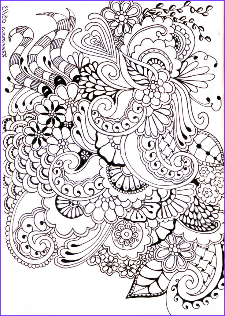 Zentangle Coloring Books New Collection Zentangle Journal Ideas Journaling Doodling