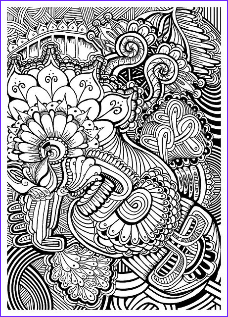 Zentangle Coloring Books New Photos Patterns Coloring Pages Pinterest