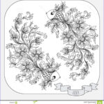 Zodiac Coloring Book Awesome Photos Hand Drawn Pattern For Coloring Book Zodiac Pisces Stock
