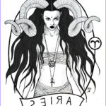 Zodiac Coloring Book Beautiful Gallery Aries By Massica Art On Deviantart