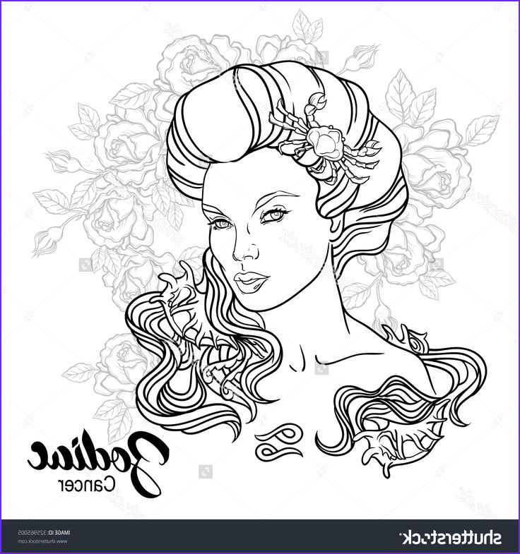 adult colouring zodiac signs