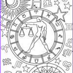 Zodiac Coloring Book Best Of Image Libra Zodiac Sign Coloring Page