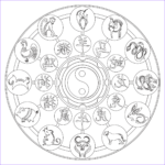 Zodiac Coloring Book Luxury Collection Chinese Zodiac Coloring Page