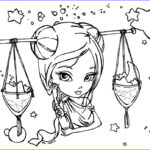 Zodiac Coloring Book New Collection Libra Drawing At Getdrawings
