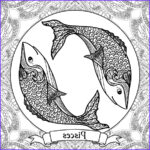 Zodiac Coloring Book New Photography Zodiac Signs Coloring Pages On Behance
