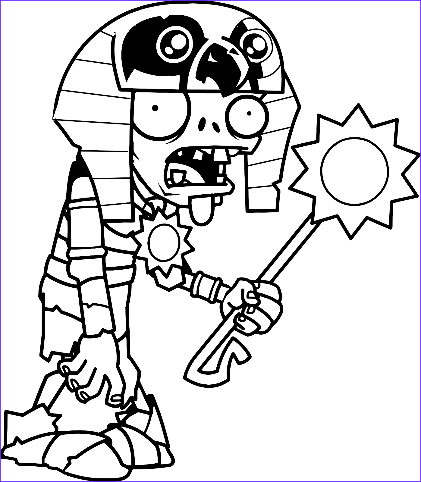 Zombie Coloring Book Elegant Photos original Coloring Pages Plants Vs Zombies 2 Egyptian