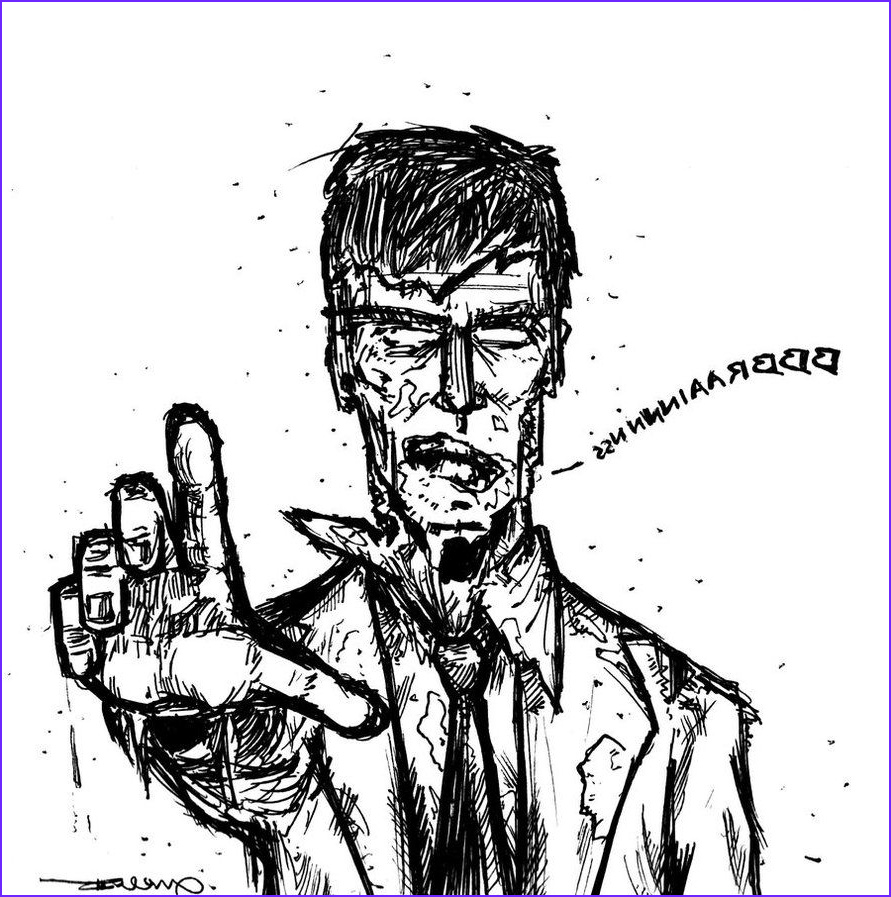 Zombie Coloring Book Luxury Image Zombies Coloring Pages