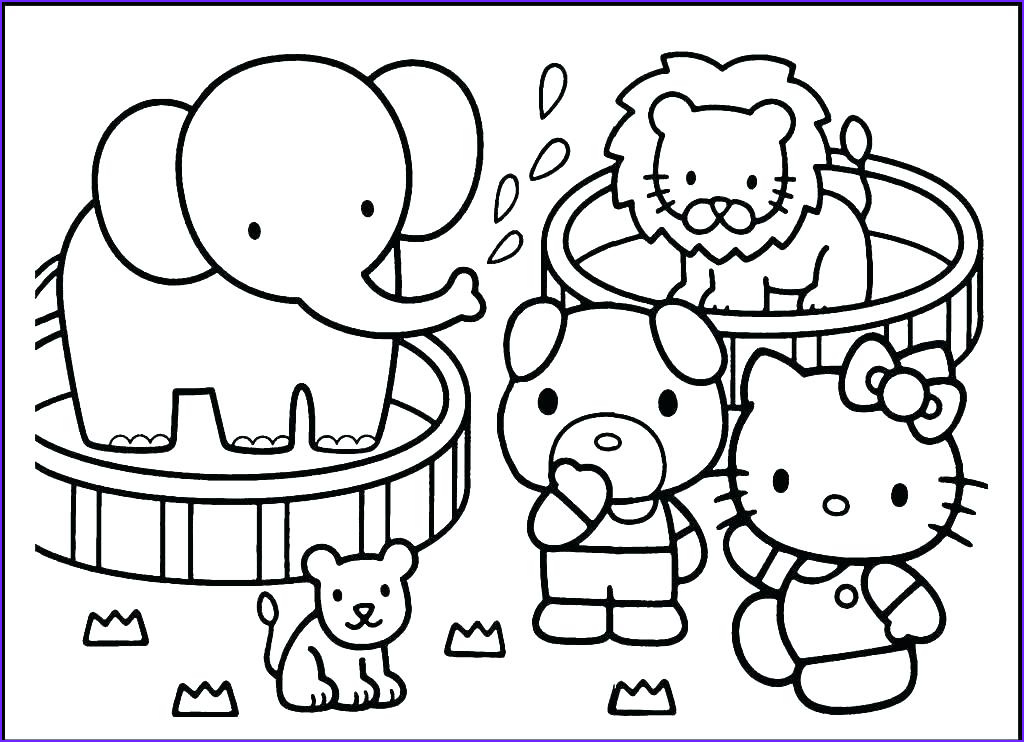 Zoo Animals Coloring Pages Beautiful Stock Zoo Animals Coloring Pages Best Coloring Pages for Kids