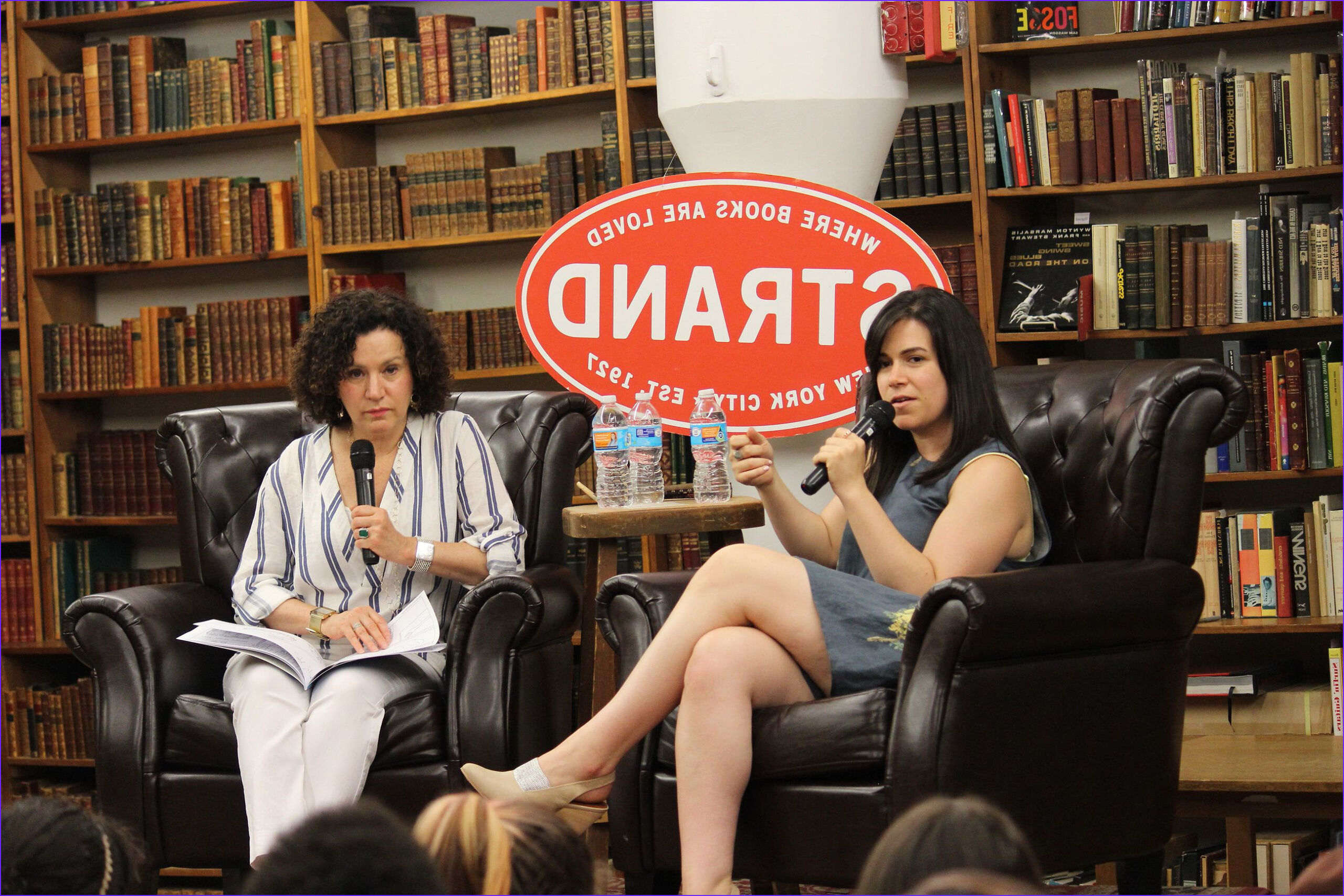 broad citys abbi jacobson chats with susie essman at strand books