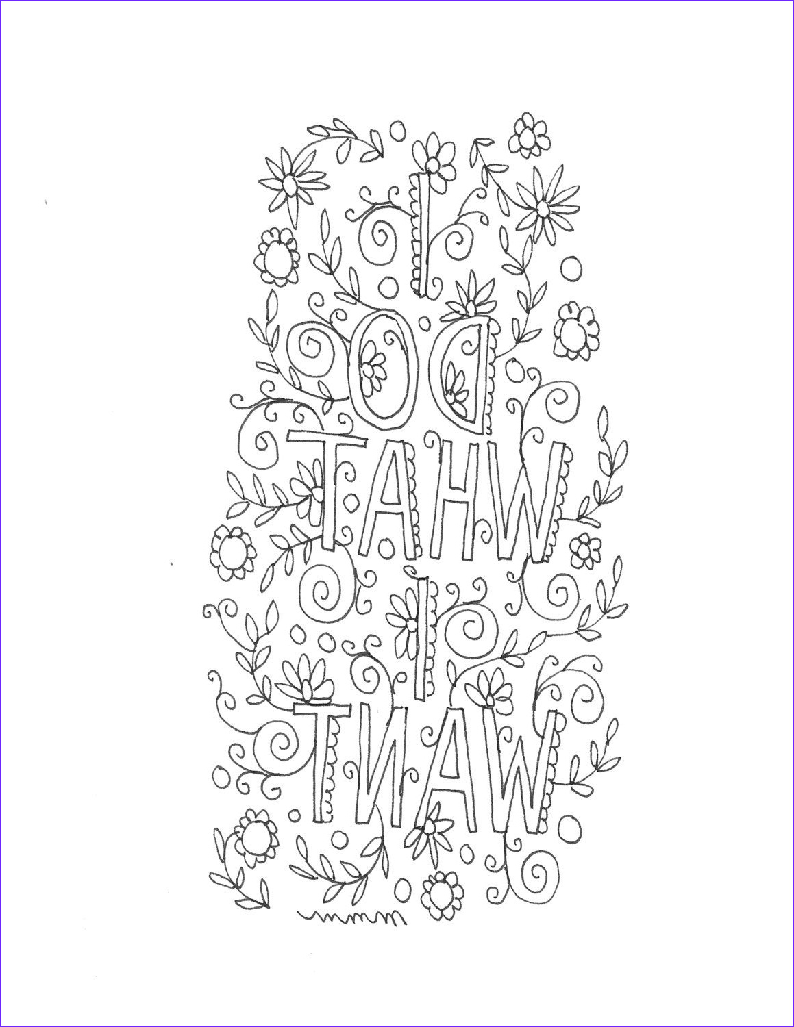 Adult Coloring Page Quote Elegant Photography Quote Coloring Page Instant Download Line Art Illustration