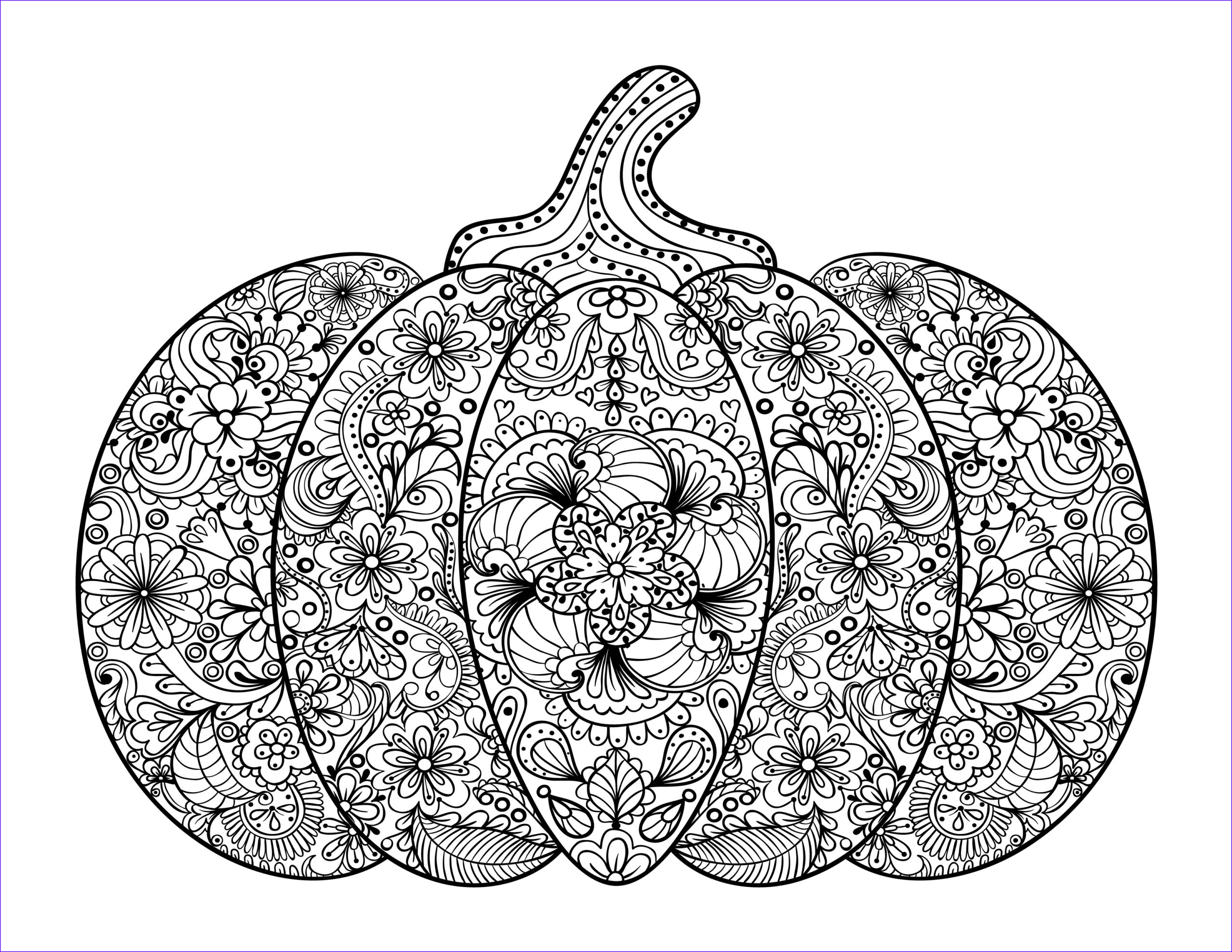 Adult Coloring Print Awesome Photos Free Adult Coloring Pages Pumpkin Delight Free Pretty