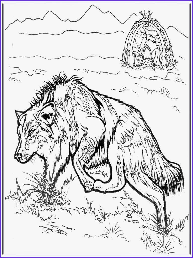 zentangle adult coloring pages printable for wolf sketch templates