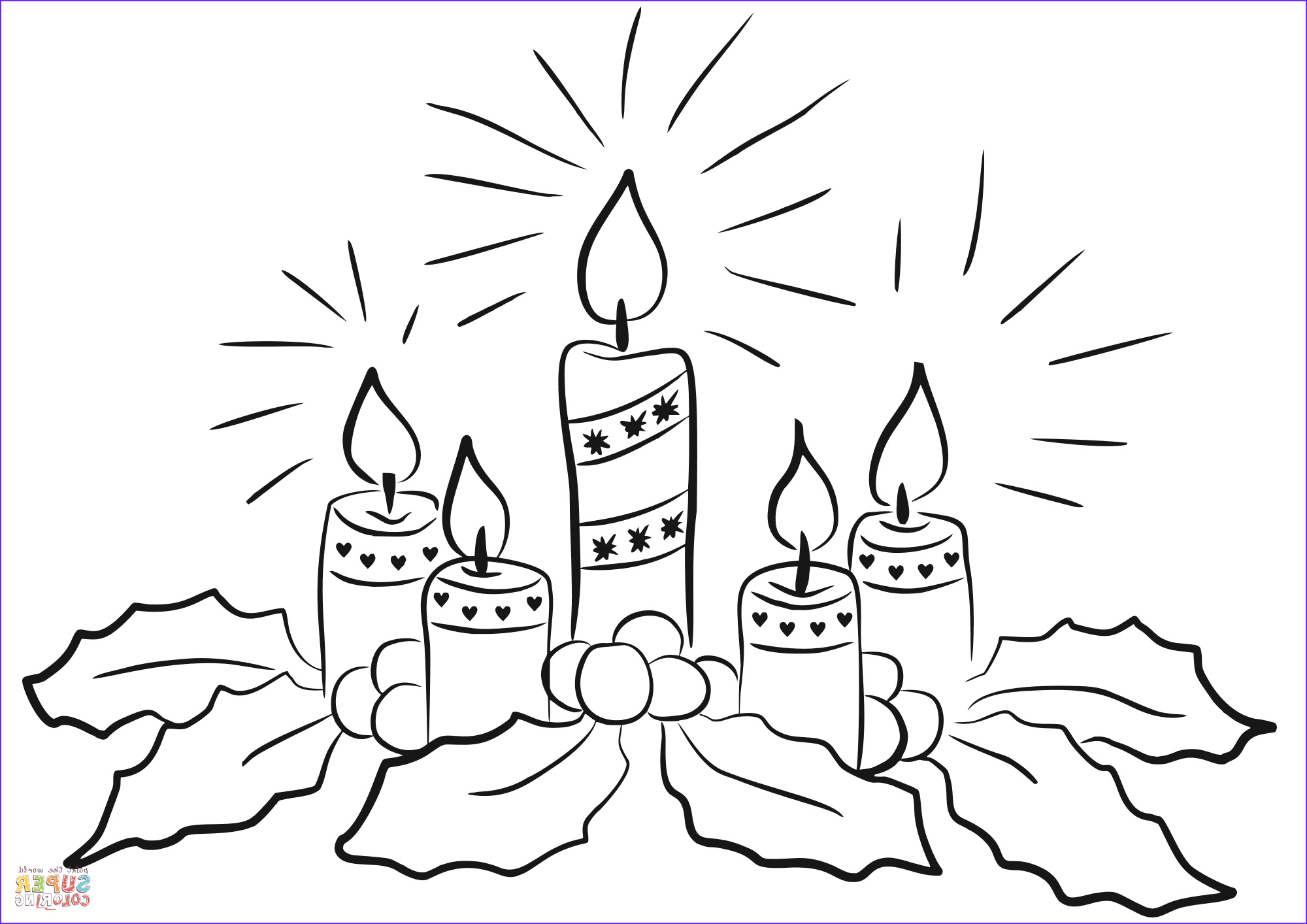 Advent Wreath Coloring Page Beautiful Photos Advent Candles Coloring Page