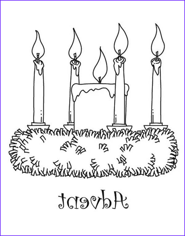 Advent Wreath Coloring Page Inspirational Stock Printable Advent Coloring Pages Sketch Coloring Page