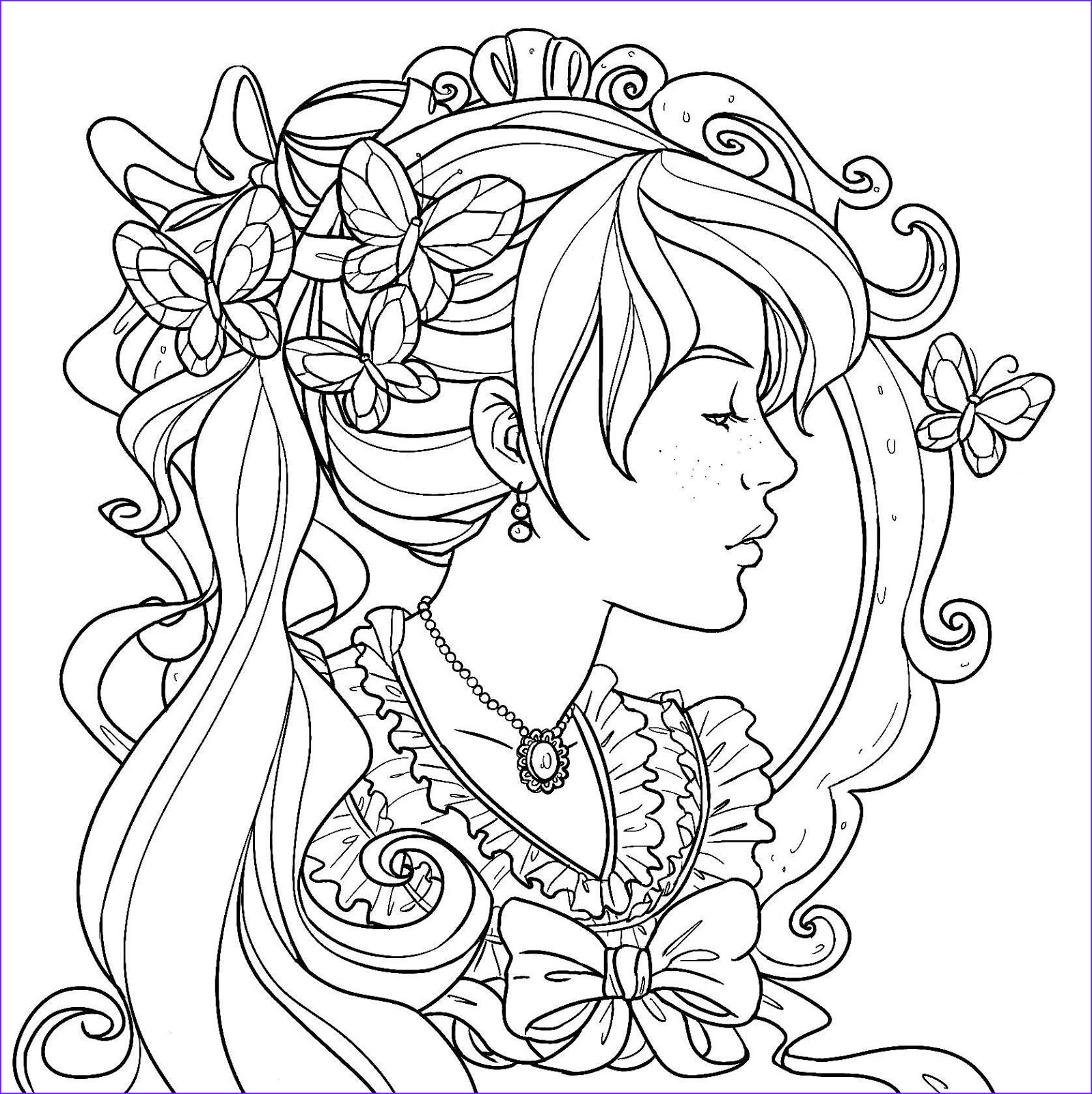 alphonse mucha months coloring pages sketch templates