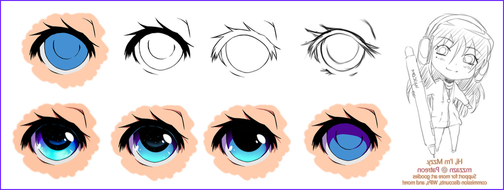 Anime Eyes Coloring Inspirational Photos Eye Coloring Phases By Mzzazn On Deviantart