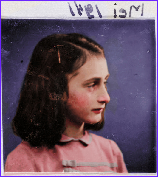 Anne Frank in Color