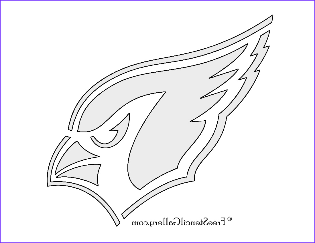 Arizona Cardinals Coloring Page Elegant Images Arizona Cardinals Logo Coloring Pages Sketch Coloring Page