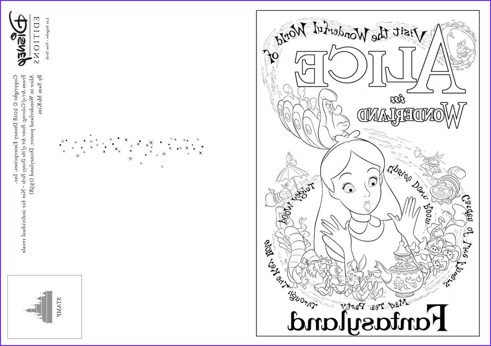 art of coloring poster art of the disney parks 36 postcards to inspire creativity out now
