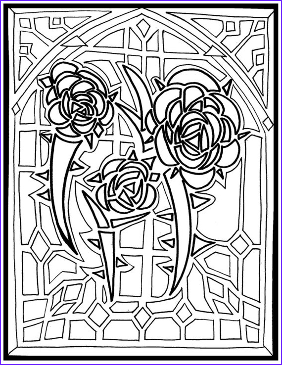 coloring page color4acauseautism stained