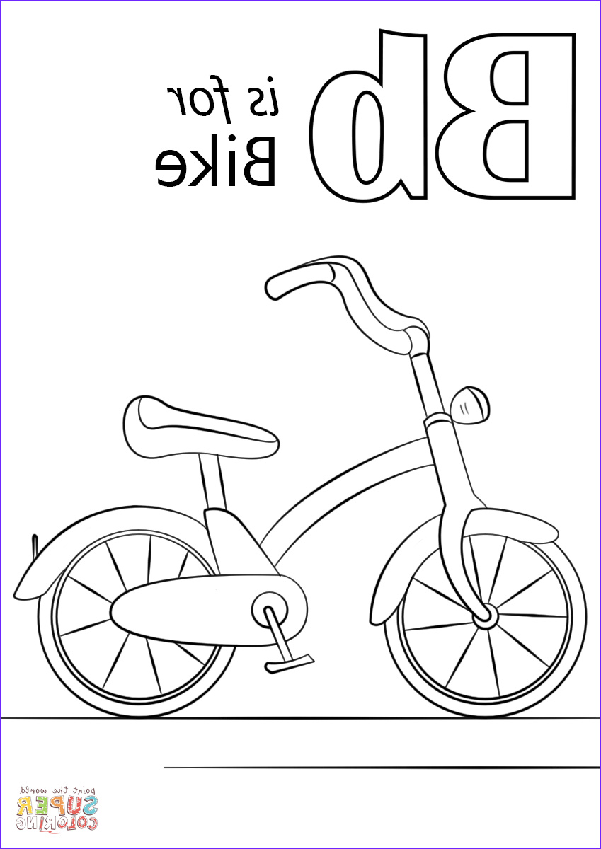 letter b is for bike