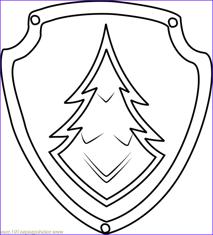 Badge Coloring Page Luxury Photos Skye Paw Patrol Badge Coloring Coloring Pages