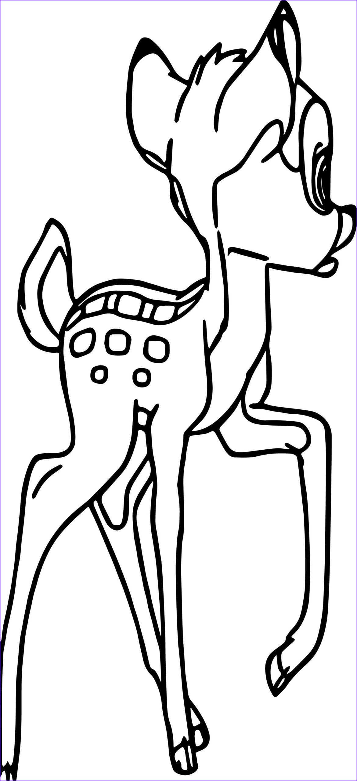 bambi coloring pages 2