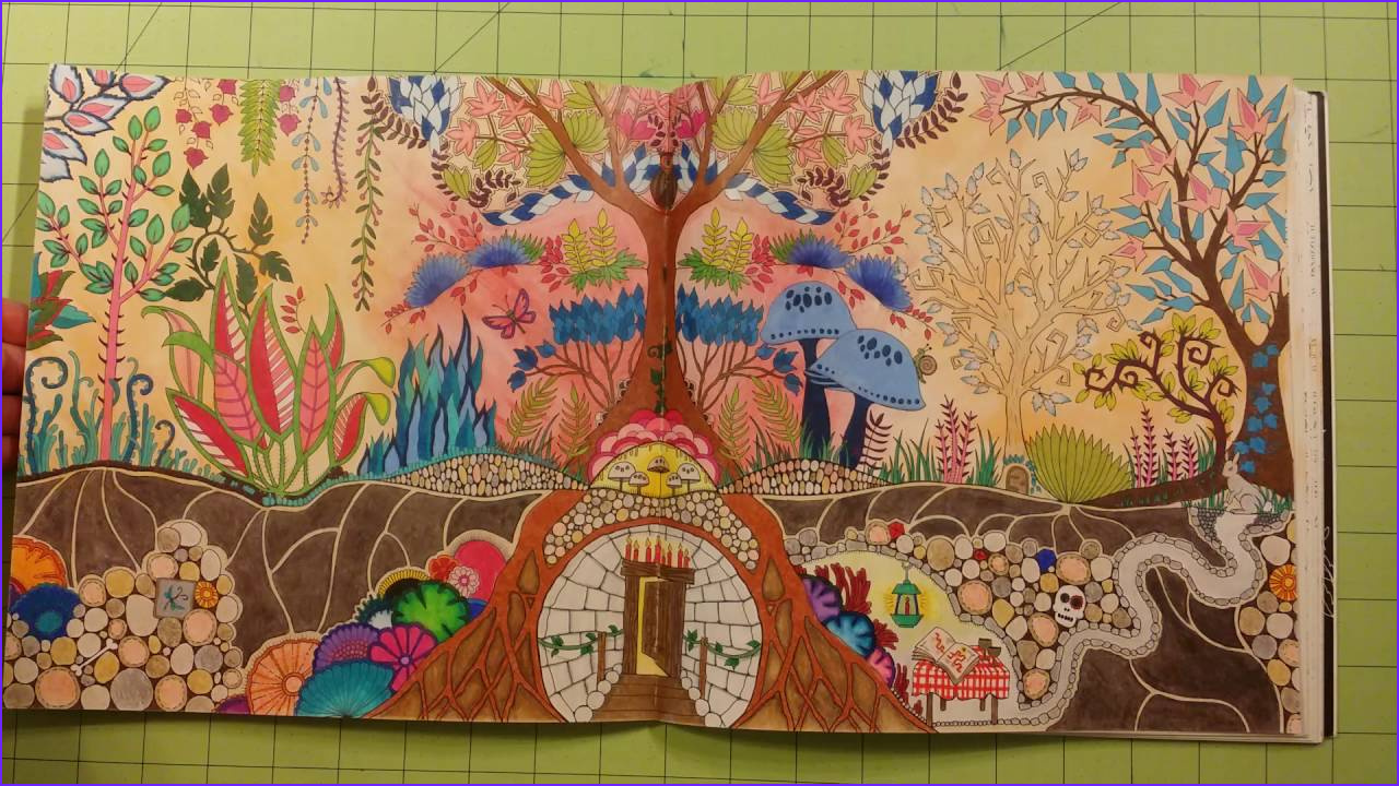 Basford Coloring Book New Photos The Enchanted Forest By Johanna Basford Adult Coloring
