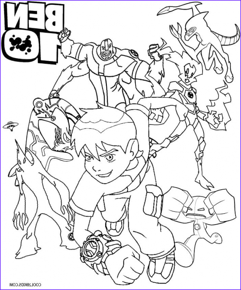 Ben 10 Coloring Page Inspirational Photos 20 Free Printable Ben 10 Coloring Pages