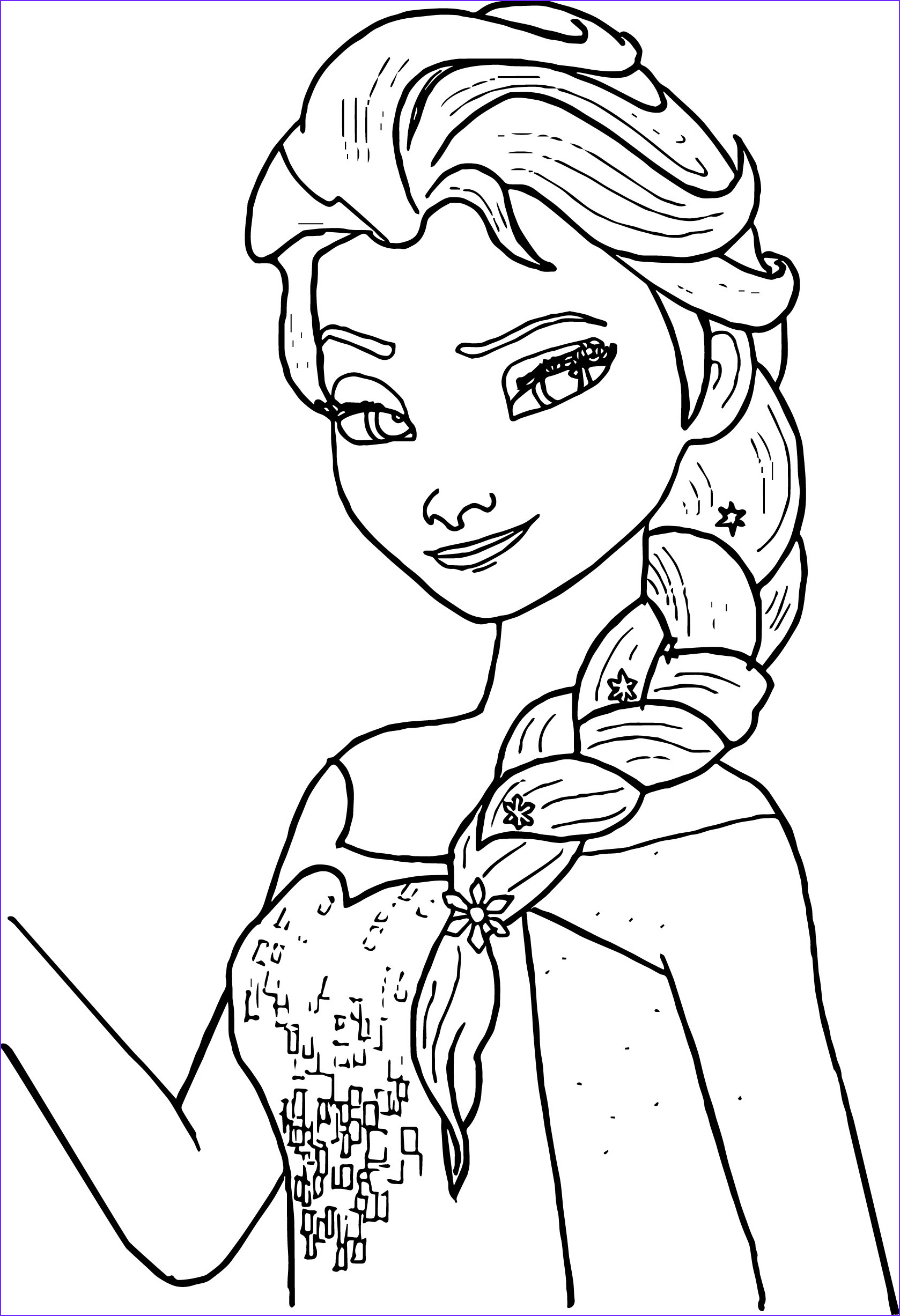 Best Coloring Book for toddlers Cool Photos Free Printable Elsa Coloring Pages for Kids Best