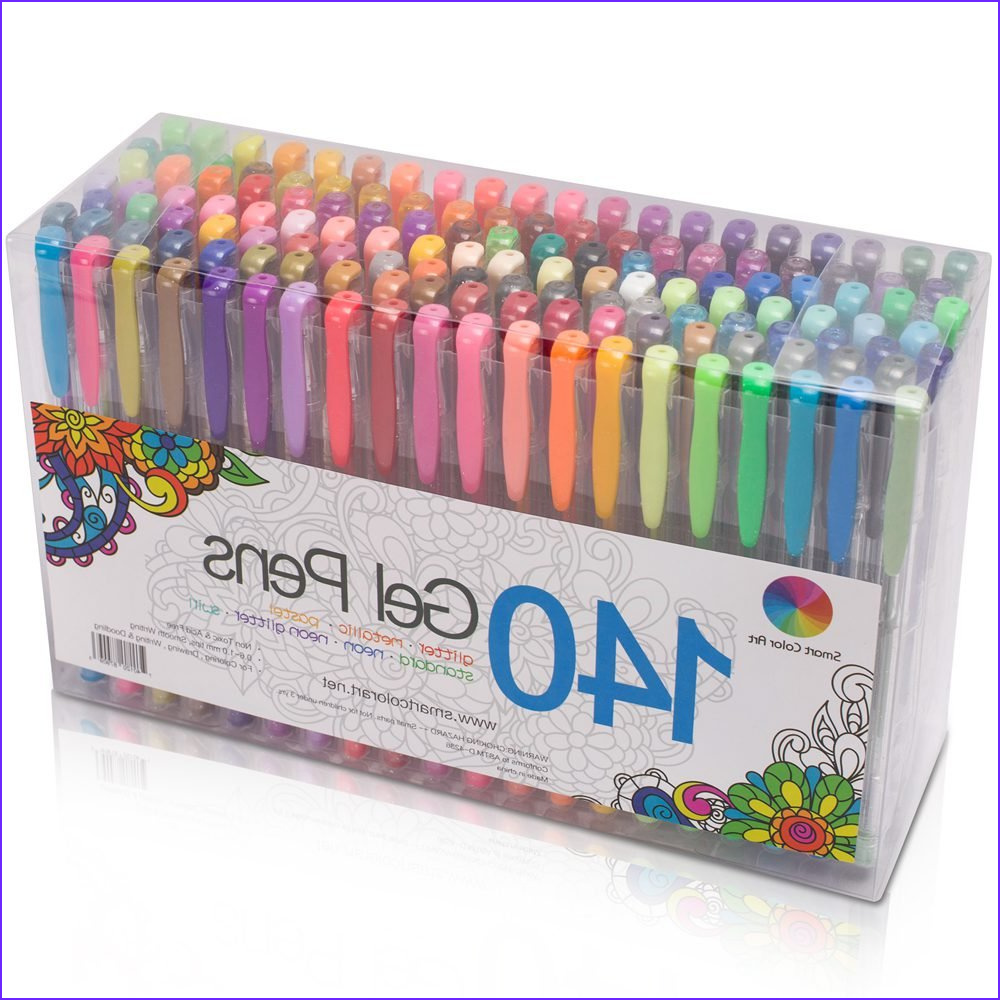 gel pens for coloring
