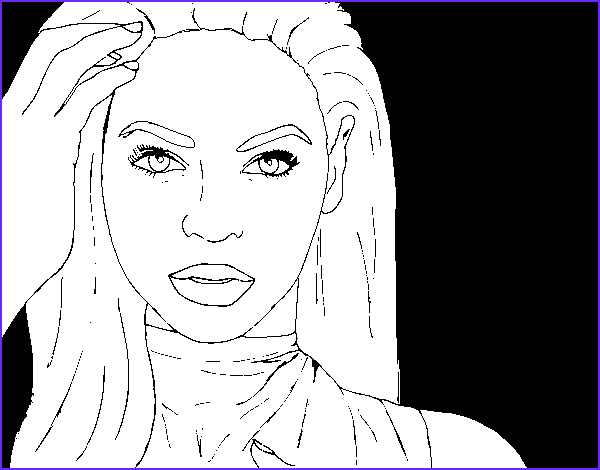 Beyonce Coloring Book Beautiful Photos Beyonce Coloring Coloring Pages