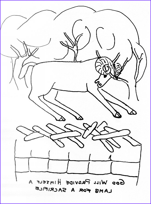 Bible Story Coloring Sheet Elegant Collection Bible Story Coloring Page for Abraham and isaac
